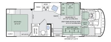 Motorhome Floor Plans Thor A C E Floor Plans Thor Ace Floorplans
