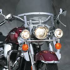 national cycle 16 1 2 in chrome heavy duty windshield lowers