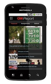 cnn app for android cnn app unveiled for android phones cnn ireport