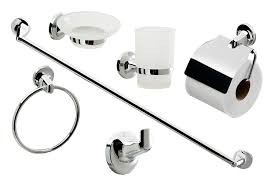 bathroom accessories cassellie 0908001 6 piece bathroom accessories set metal amazon