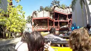 Map Universal Studios Hollywood Jurassic Park Water Ride At Universal Studios Hollywood Youtube