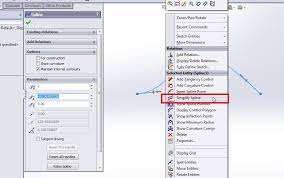 how to use solidworks spline sketch tool in solidworks cad