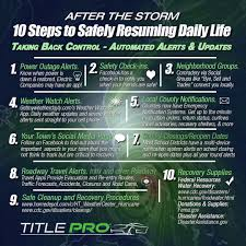 Resuming 10 Automated Alert Mobile Apps After The Storm Infographic
