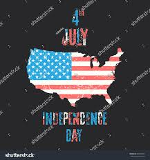 Th Flag Independence Day 4th July Usa Flag Stock Vector 640650403
