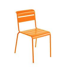 chaise de jardin chaise de jardin rétro en métal lutetia 4 pieds tables