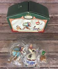 2001 hallmark keepsake club ornaments lettera globus mrs claus 3