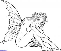 simple fairy drawing how to draw a fairy step step youtube
