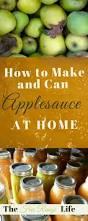 homemade applesauce the free range life