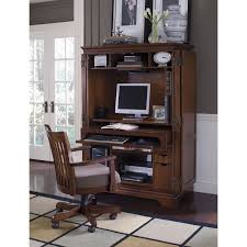 Used Computer Armoire by Riverside Cantata Credenza And Hutch Computer Desk Hayneedle