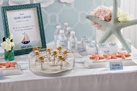 baby shower party ideas baby on board nautical baby shower play party plan