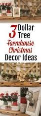 Dollar Tree Christmas Items - create farmhouse christmas decor with dollar tree supplies
