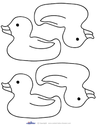 rubber duck coloring free download