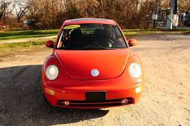 volkswagen orange 2006 volkswagen beetle orange hatchback coupe sale