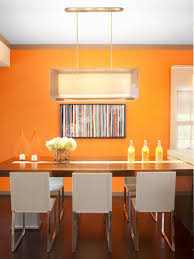 top orange ideas for every room hgtv