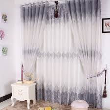 Cheap Grey Curtains Nice Grey Polyester Living Room Energy Saving Curtains Buy Grey