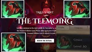 unlock minion icon tales from the rift the teemoing w link youtube
