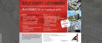 praktikum architektur geschoß und gewerbearchitektur schneck architekten