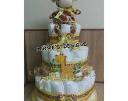 safari diaper cake jungle diaper cake safari baby shower