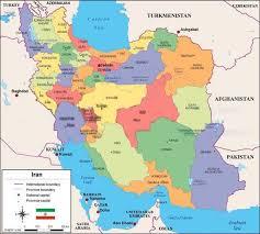 map iran iran map