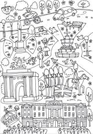 circus coloring pages printable buckingham palace wellington arch and piccadilly circus coloring