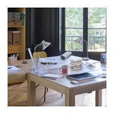 bureau en acier bobby les de table argenté métal habitat