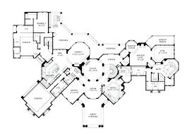 luxury house floor plans mediterranean home floor plans 5 sq ft luxury house plan