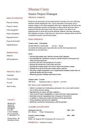 Samples Of References For Resume by Senior Project Manager Resume Sample Example References Job
