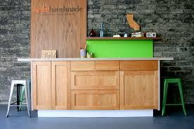 Custom Cabinet Doors For Ikea Cabinets Semihandmade Cherry Shaker Ikea Kitchen Semihandmade Shaker