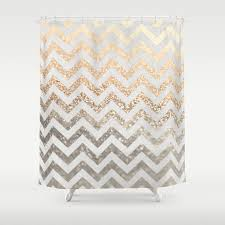 Purple And Gold Shower Curtain Graphic Design And Pattern Shower Curtains Society6