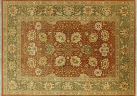 Rug 12 X 14 10 U0027x14 U0027 Oushak Collection Chobi Style Hand Knotted Wool Persian