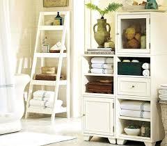 vintage bathroom storage ideas vintage bathroom shelf standing wooden ladder shelf bathroom storage