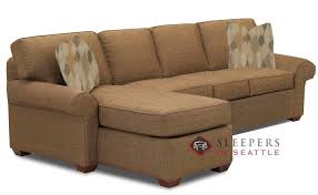 Sleeper Sofa Seattle Customize And Personalize Seattle Chaise Sectional Fabric Sofa By