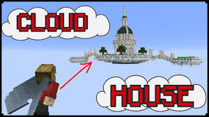 how to make a minecraft cloud house minecraft pinterest
