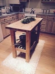 kitchen islands for sale ebay rustic kitchen island breakfast bar work bench butchers block with
