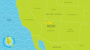 Grand Canyon Arizona Map by Grand Canyon Map Ngsversion 1461149941010 Png