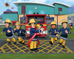 fireman sam bedroom wall mural 10ft 8ft walltastic