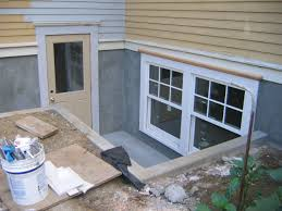 preparation to install an basement egress windows