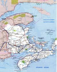 Maps Of Canada by New Brunswick Atlas
