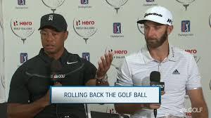 Dj Favor by Tiger Woods Dustin Johnson Talk Rolling Back Golf Golf Channel