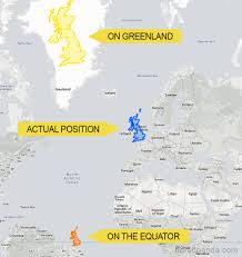 True World Map by After Seeing These 15 Maps You U0027ll Never Look At The World The