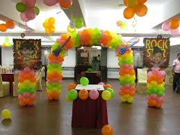 simple birthday decoration at home home design rock star birthday party decoration ideas for kids