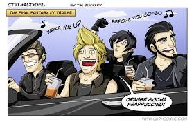 Final Fantasy Memes - i laughed at the ffxv car memes in the comments section more than