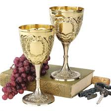 wine goblets time slips