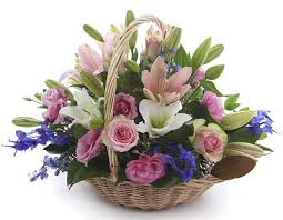 flower basket florist sydney cottage flower basket australia