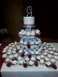 calumet bakery wedding cupcake display wedding cakes pinterest