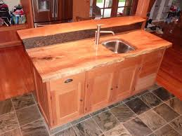 figured maple and walnut kitchen island burns jennings custom