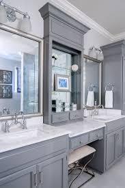 Bathroom Counter Cabinets by Best 25 Bathroom Makeup Vanities Ideas On Pinterest Makeup