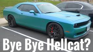 dodge car reviews getting rid of my hellcat for the dodge