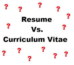Whats The Difference Between Cv And Resume Curriculum Vitae Cv Vs Resume Vs Resume Sample Curriculum Vitae