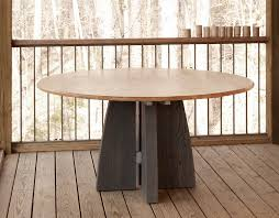 modern pedestal dining table contemporary modern pedestal dining table inside round prepare 26